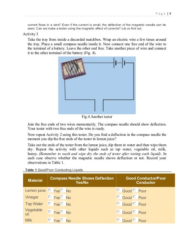 chemical effects of electric currents The passage of an electric current through a conducting solution causes chemical reactions this is known as the chemical effect of electric current some of the chemical effects of electric current are the following.
