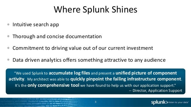 SplunkLive! Minneapolis April 2013 - Moneygram