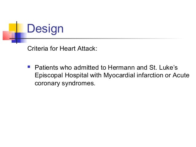 Design Risk Factor: We classify the key risk factors include:  1. Gender and Age  2.Hyperlipidemia;  3. Hyperblood pres...