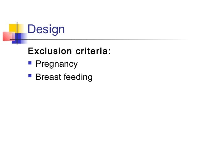 Design Sample size:  In order to obtain necessary information for evaluation of techniques and calculation of required sa...