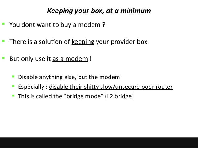 Mastering your home network do it yourself bridging the box 19 solutioingenieria