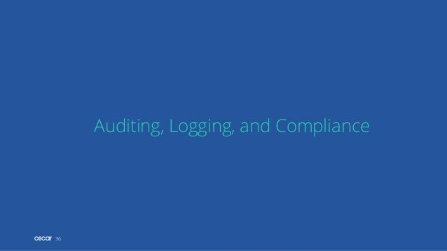 36 Auditing, Logging, and Compliance