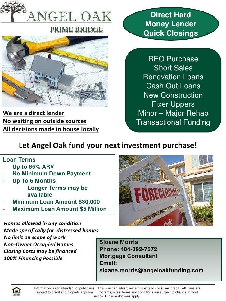 Direct Hard                                                                                     Money Lender              ...