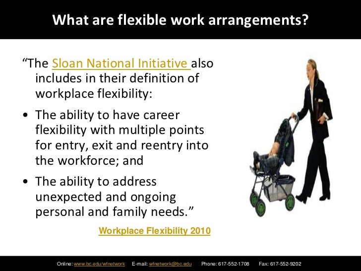 Flexible Work Arrangements - The Good, The Bad and The Ugly