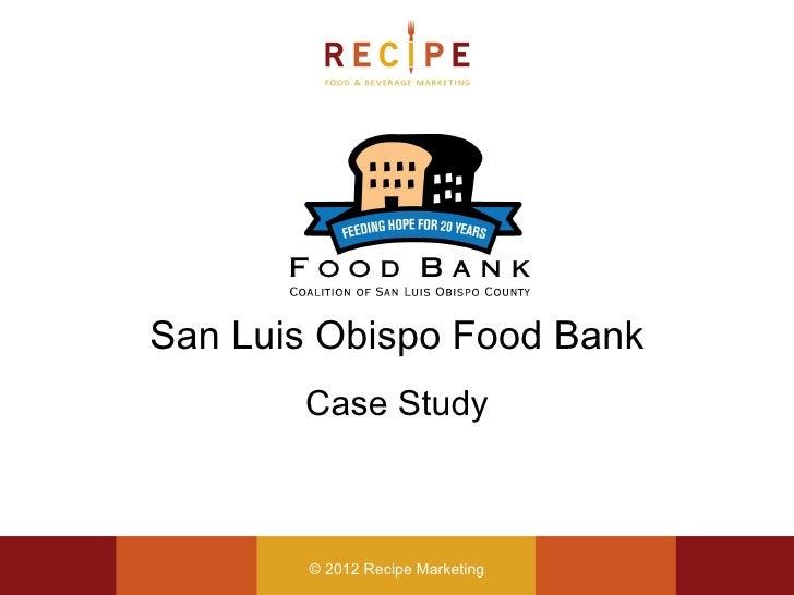case study food bank View food banks canada case study from hrm 310 at university of phoenix in the 2016, governments were called upon to make large-scale changes to the way food banks address poverty and food.