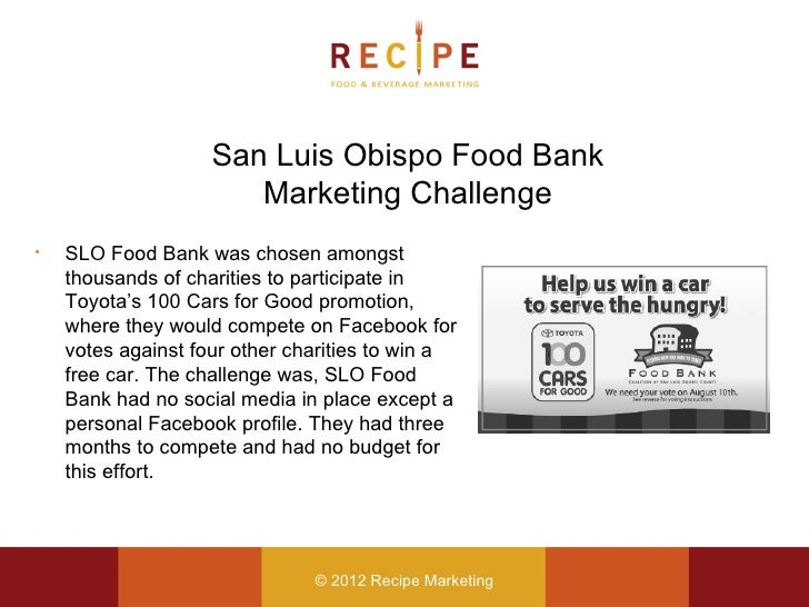 case study food bank Provide background information on the origins of food banking and its devel-   paper discusses a case study of foodbank johannesburg, one of five food.