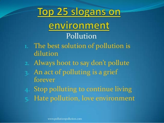 Slogans to save our earth from population