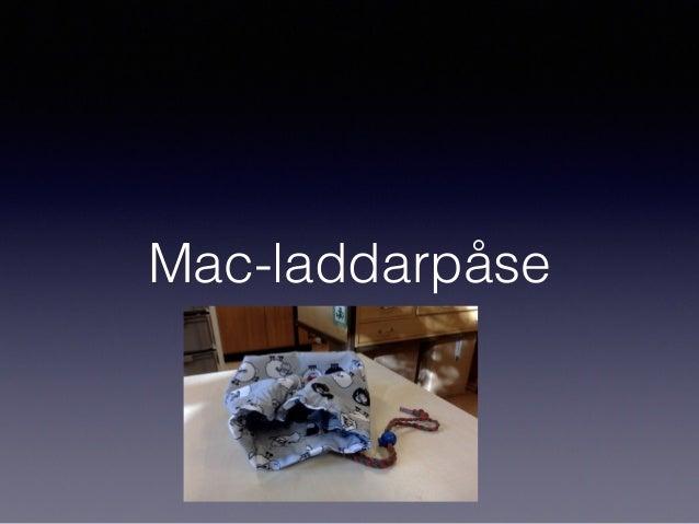 Mac-laddarpåse