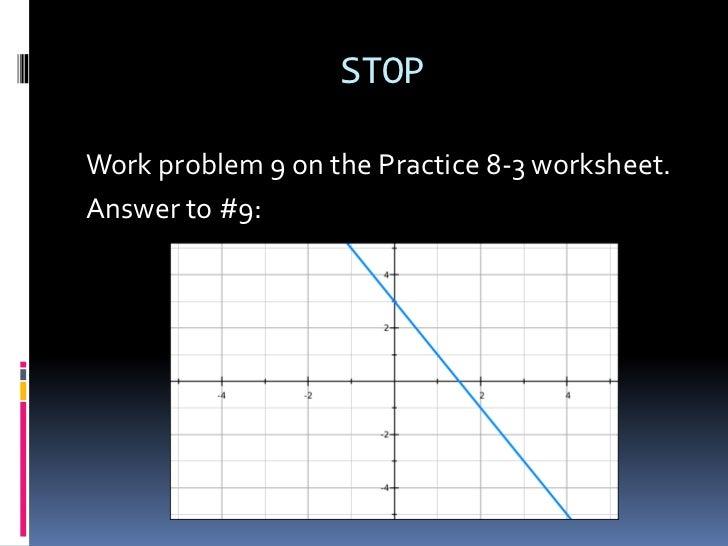 X And Y Intercept Practice Worksheet Kidz Activities