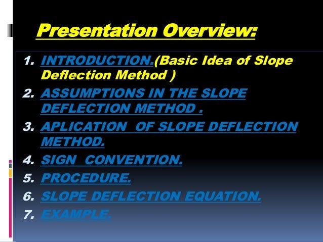 Slope deflection method Slide 2
