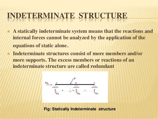 Indeterminate Structure