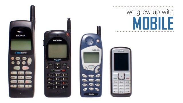 MOBILE we grew up with