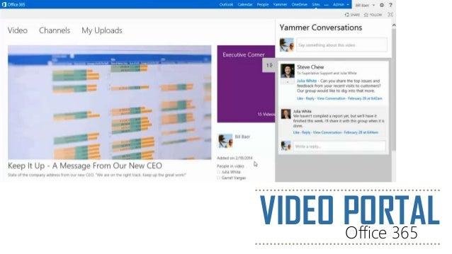 VIDEO PORTALOffice 365