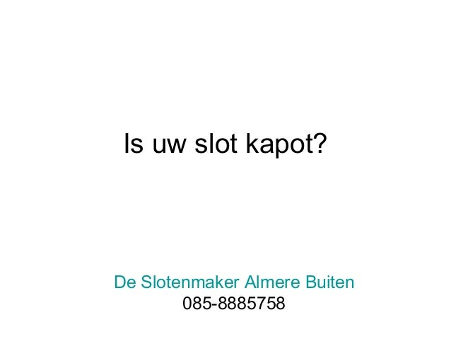 Slotenmaker Almere Buiten Bel nu 085-8885758 Slide 3