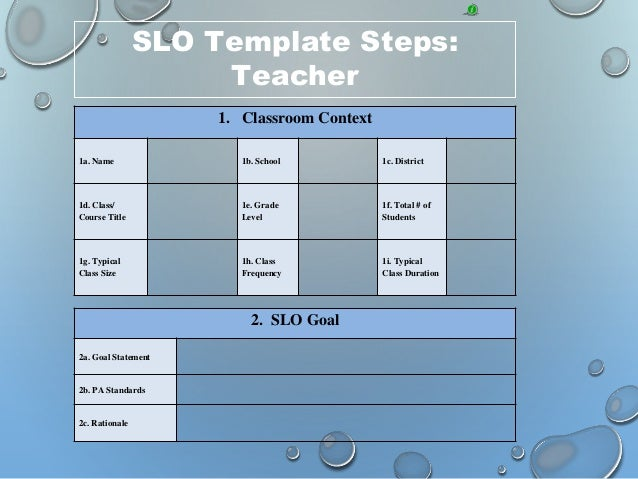 Introduction To Slo Training Steps 1 Amp 2 border=