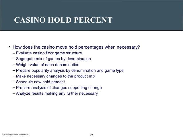 Casino game hold percentages team building casino