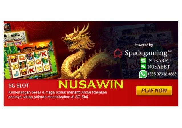 Nusabet Games Slot Spadegaming Agen Slot Games Slot Online Bandar