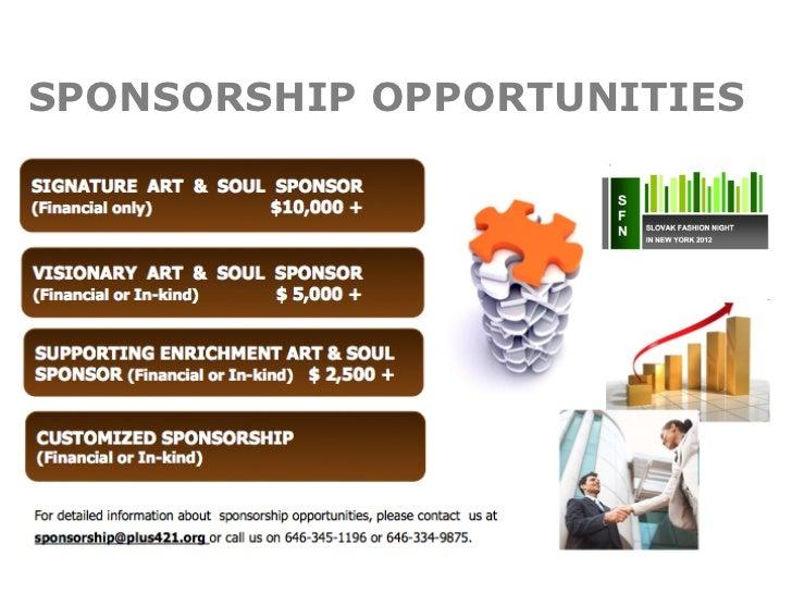 slovak fashion night 2012 sponsorship proposal, Presentation templates
