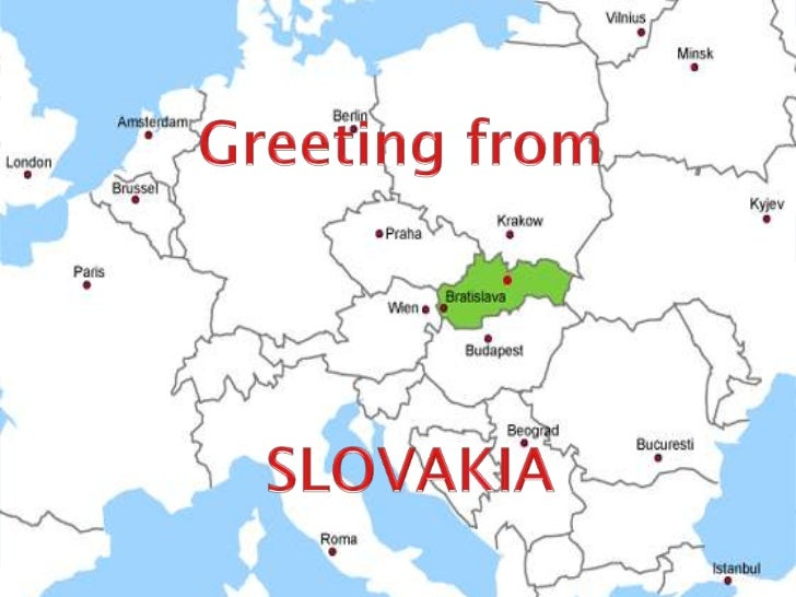 Greetingfrom<br />SLOVAKIA<br />