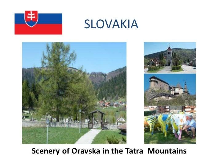 SLOVAKIAScenery of Oravska in the Tatra Mountains