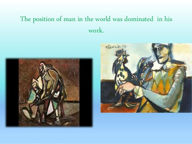 His work was influenced by Spanish painter Pablo Picasso.