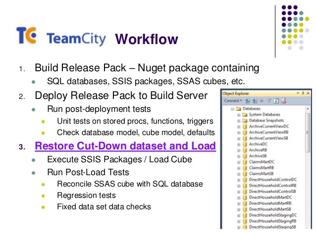 Continuous Integration and the Data Warehouse - PASS SQL