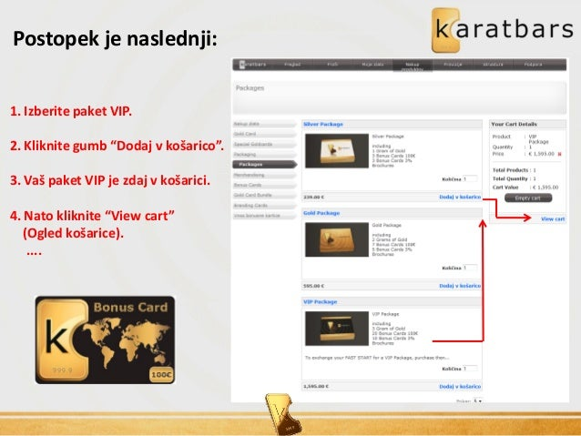 Karatbars international business presentation