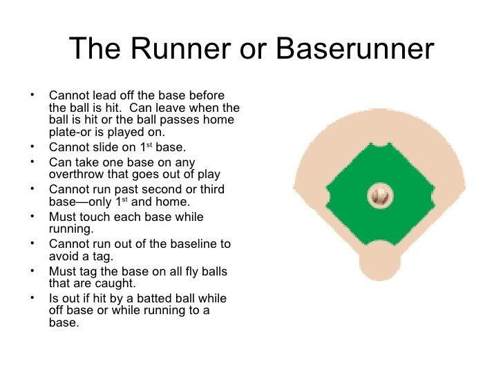 Basic softball rules
