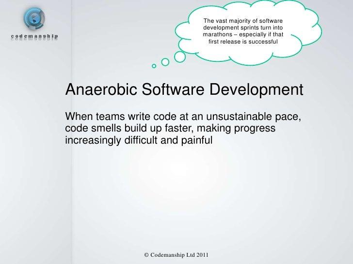 The vast majority of software                                  development sprints turn into                              ...