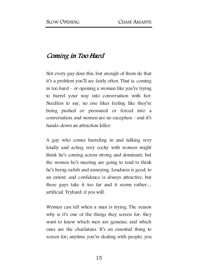Slow opening the natural way to meet her PDF EBook Download-FREE