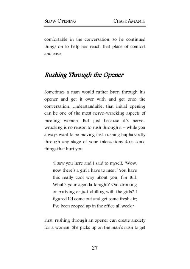 Slow opening the natural way to meet her PDF EBook DownloadFREE – Agenda Download Free