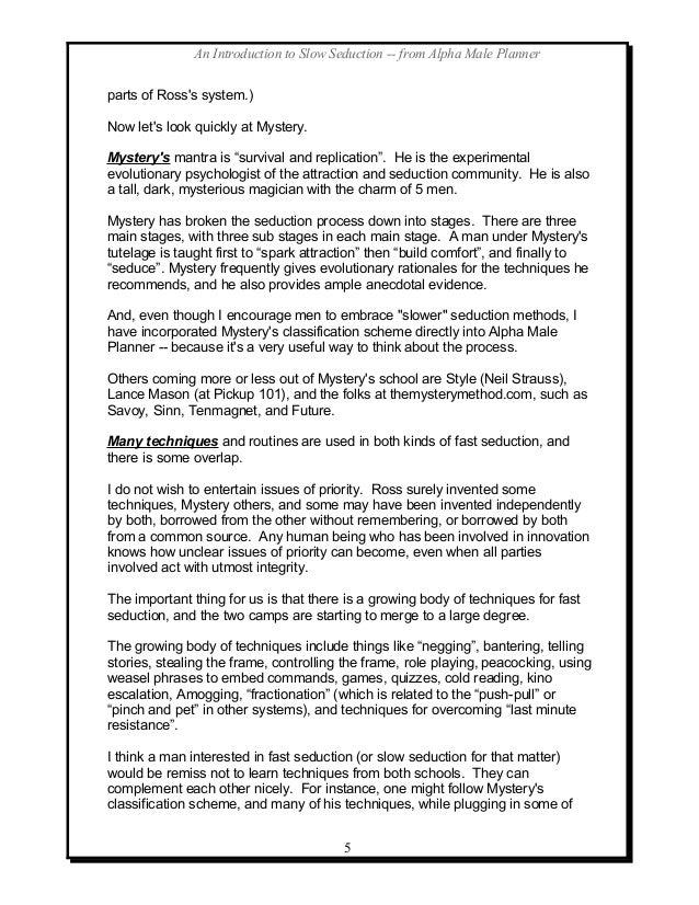 Neuro linguistic programming techniques for seduction pdf