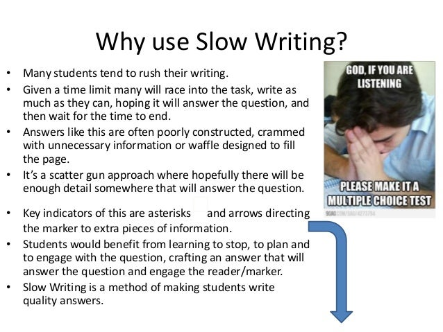 how to handle slow learners essay 2013-6-10 placing students in clusters according to ability, a tactic once rejected over concerns that it fostered inequality, has re-emerged in classrooms all over the country.