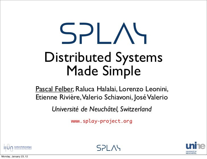 ᔕᕈᒪᐱᓭ                            Distributed Systems                               Made Simple                         Pas...