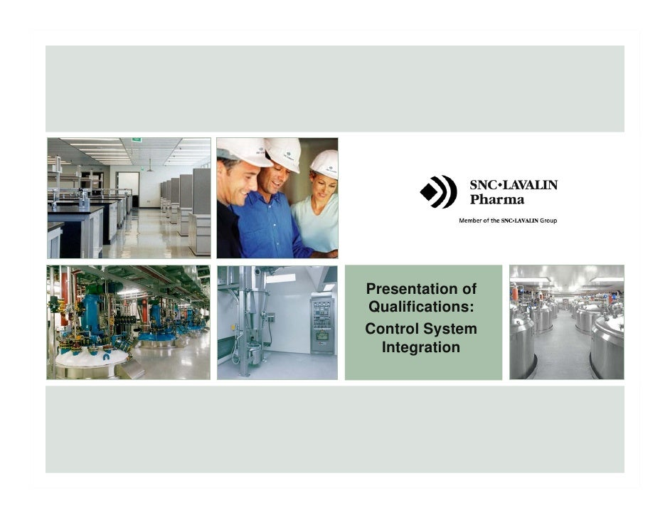 Presentation of                                                   Qualifications:                                         ...