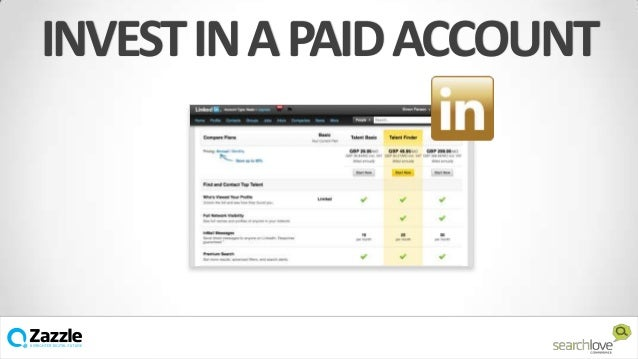 INVEST IN A PAID ACCOUNT  v