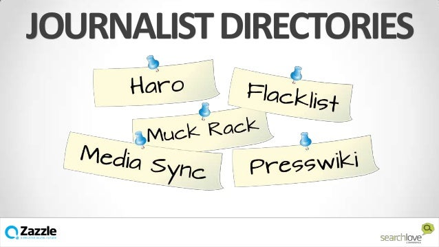 JOURNALIST DIRECTORIES  v