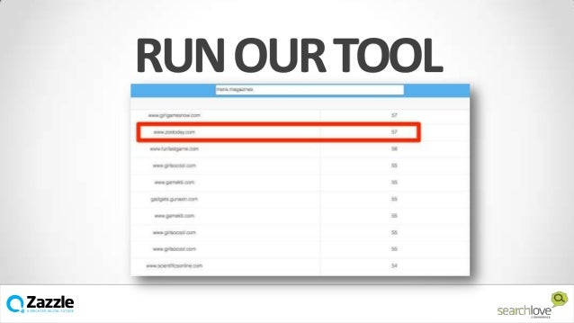 RUN OUR TOOL  v