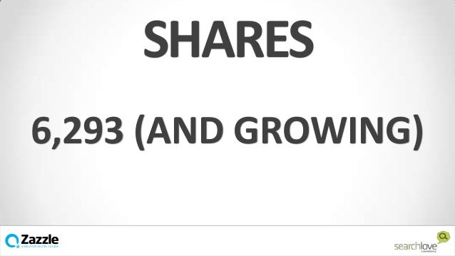 SHARES 6,293 (AND GROWING) v