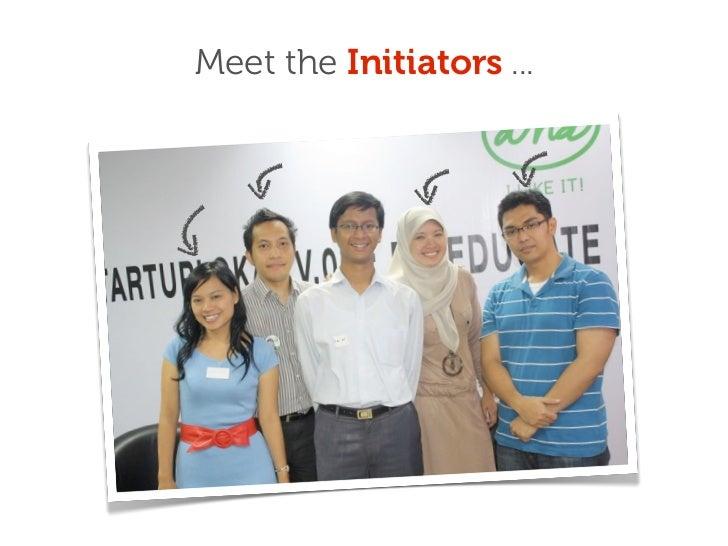 Startuplokal presentation on 1st anniversary