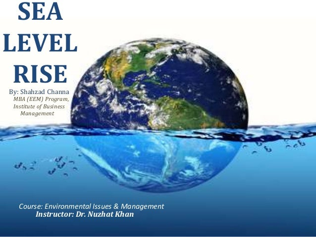 "how the sea level is rising essay The question will ocean levels rise by more than the current 3mm a yearthe peer-reviewed article, ""20th-century global-mean sea-level rise: is the whole greater than the sum of the parts"" by jm gregory, sought to explain the factors involved in sea-level rises during the last century."