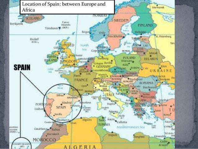 Spanish history and culture up to 14th century location of spain between europe and africa gumiabroncs Image collections