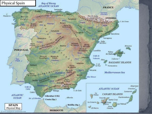 Map Of Spain 8th Century.Spanish History And Culture Up To 14th Century