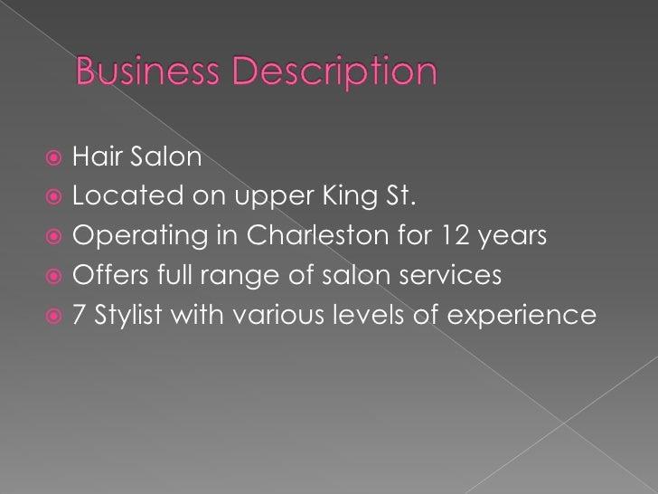 S L Salon P P T Slide 2
