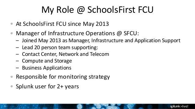 Schoolsfirst Credit Union Customer Presentation