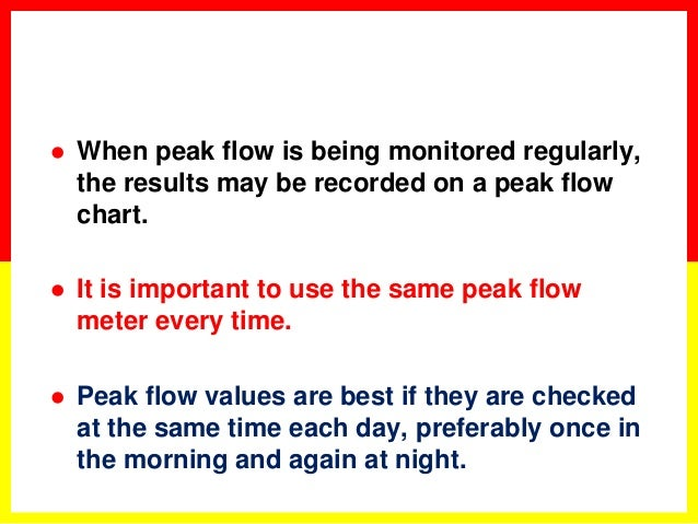 Peak Flow Chart A Twoweek Diary Of Peak Flow Asthma Basics Peakflow