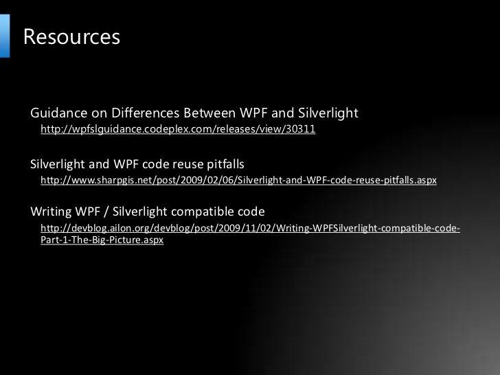 Silverlight UK User Group Cross Platform XAML Applications