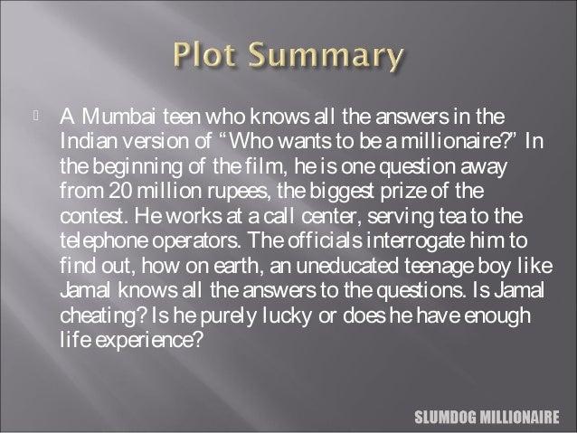 summary slumdog millionaire