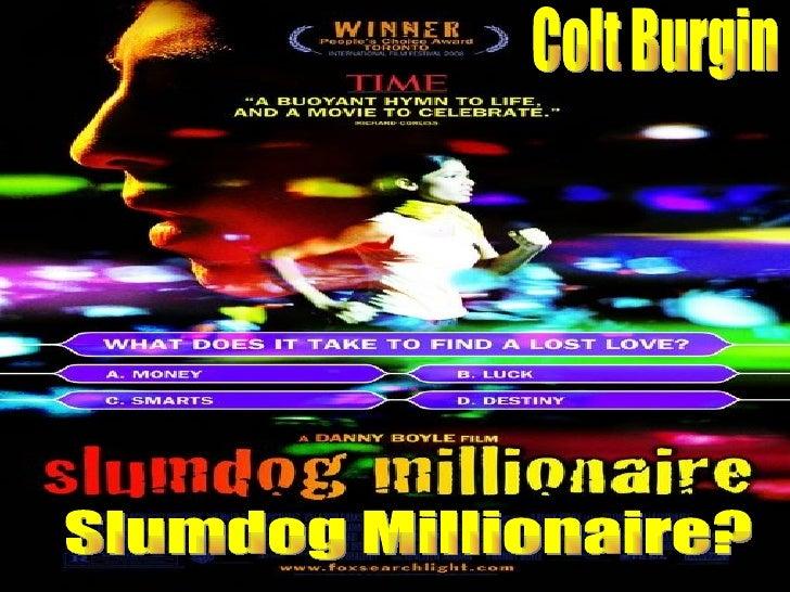 Slumdog Millionaire Analysis