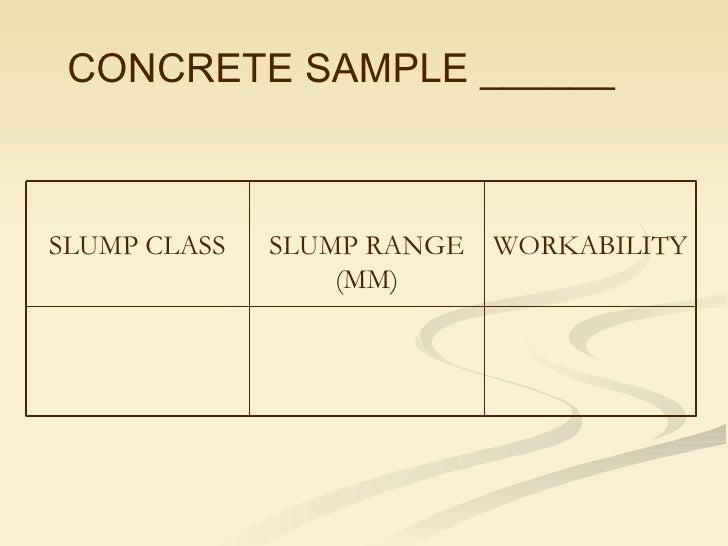 slump cone test procedure for concrete pdf